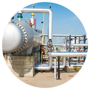 Fasteners used in Gas Plants